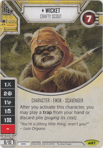 Wicket - Crafty Scout (SOH) Rare