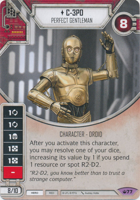 C-3PO - Perfect Gentleman (SOH) Legendary