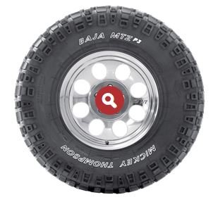 BAJA RADIAL MTZ P3 ULTIMATE MUD TERRAIN TYRE 20% Road & Sand, 80% Dirt & Mud