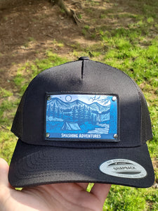 Camping with a View Multi-Style SA Hat (Blue)
