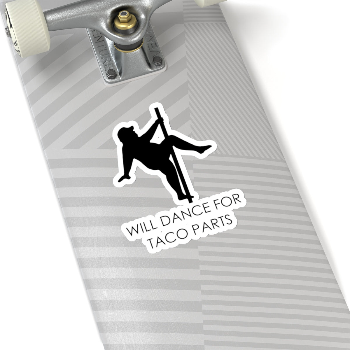 Will Dance For Taco Parts Sticker