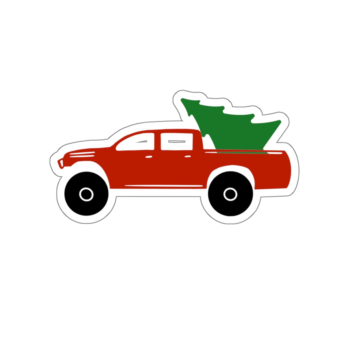 LIMITED EDITION - Toyota Tacoma Christmas Sticker