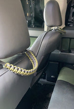 Load image into Gallery viewer, PARACORD HEADREST GRAB HANDLES V1.0 (PAIR)