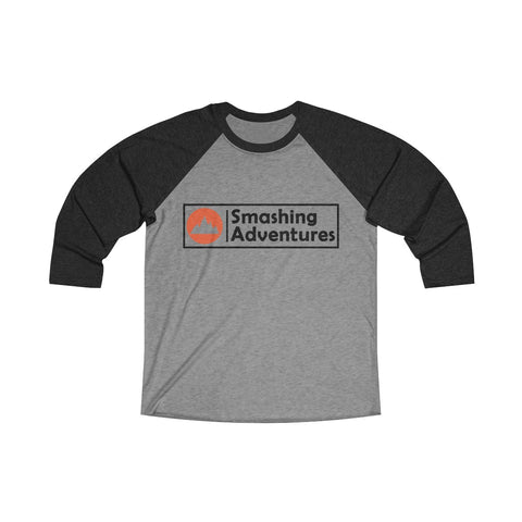 Smashing Adventures Baseball Tee