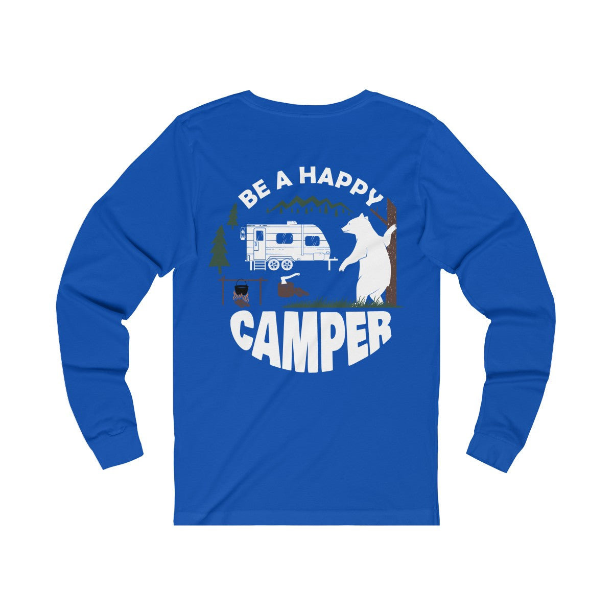 Be A Happy Camper Long Sleeve Tee - *30% OFF*