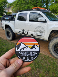 Smashing Adventures Logo Patch