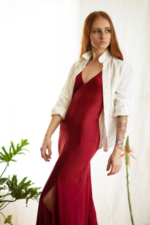 Mae Dress / Scarlet Silk