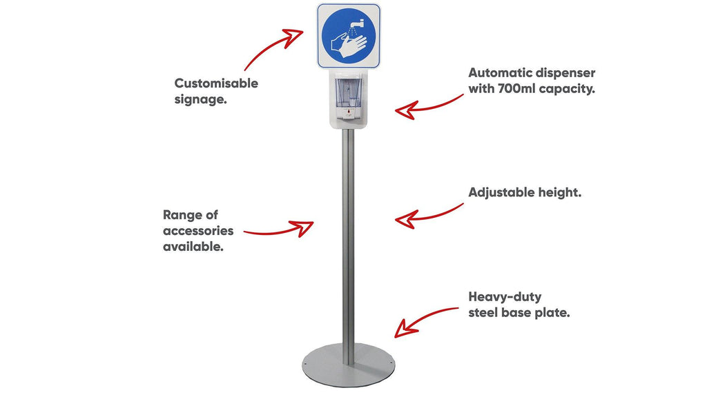 Automatic Sanitiser Stand