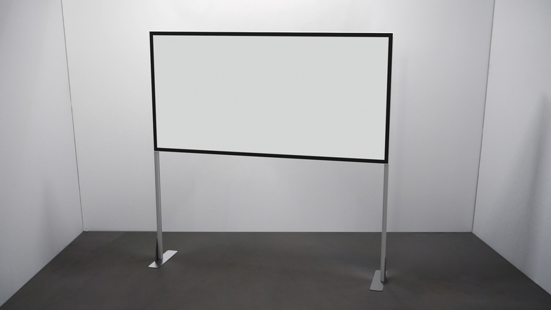 White Foamboard Half Screen - TecnaCare