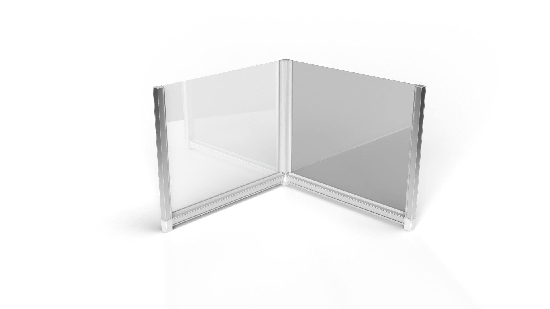 T3 Desk Dividers - U & L Shape - TecnaCare