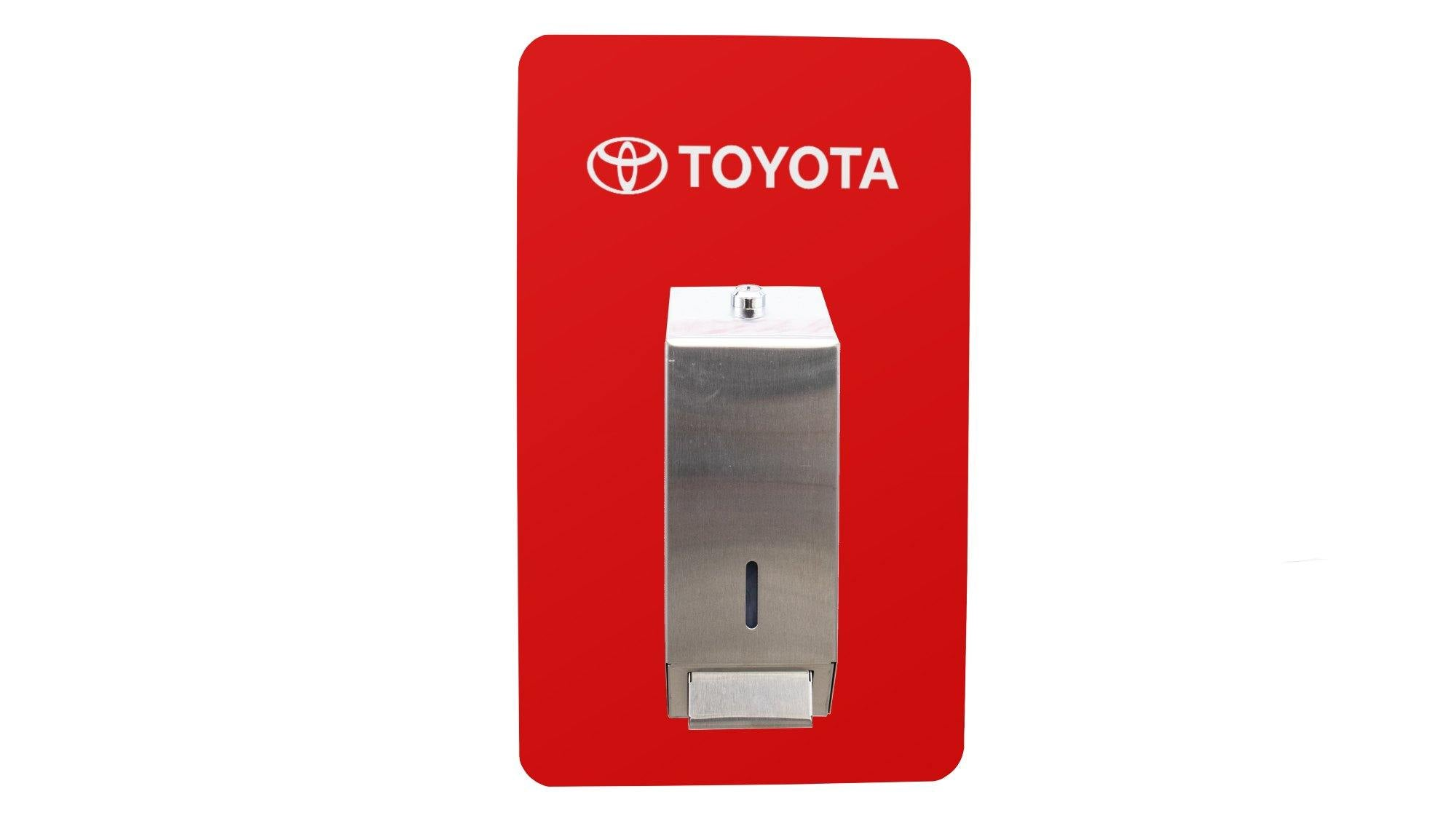Branded Outdoor Hand Sanitiser - TecnaCare