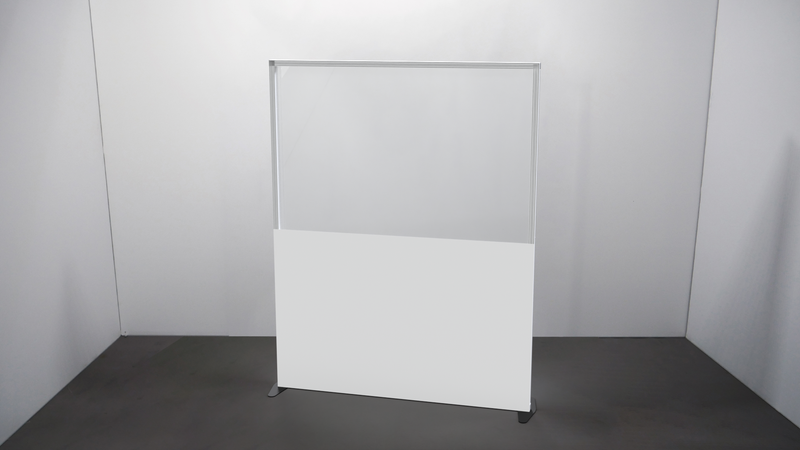 Clear PVC Screen Wall - TecnaCare