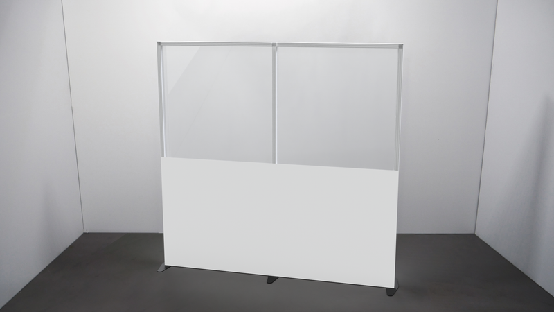 Clear PVC Screen Wall