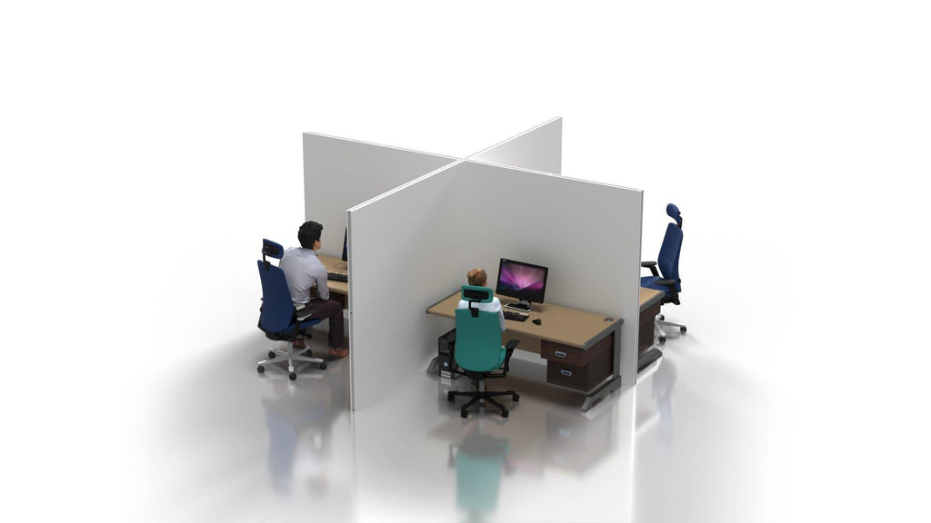 Desk Partitions Fabric