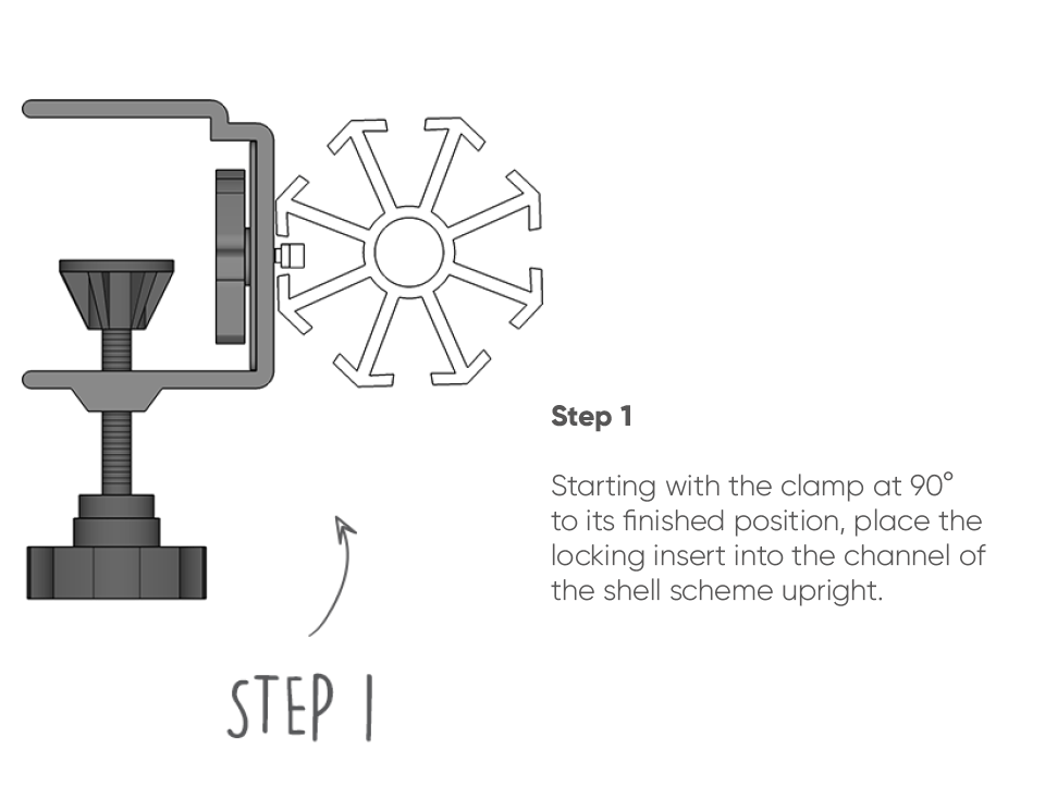 Shell Kit Clamp