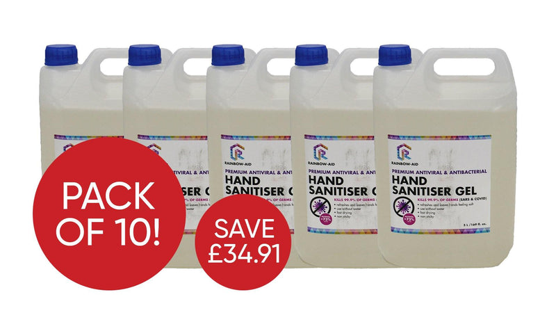 5L Sanitiser Gel