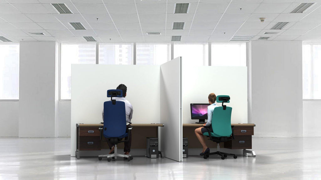 Fabric Office Partitions