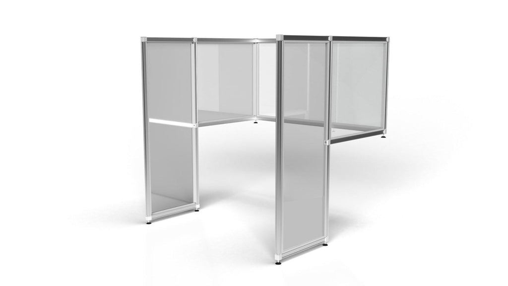 Desk Dividers - T3 Floor Standing