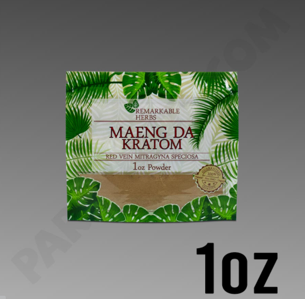Remarkable Herbs - Kratom Powder Tea Red Vein Maeng Da