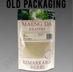 Remarkable Herbs - Kratom Powder Tea Green Vein Maeng Da