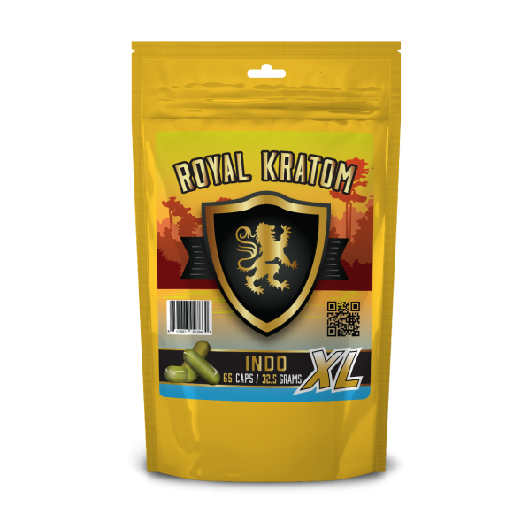 Royal Kratom - Capsule Indo 65ct