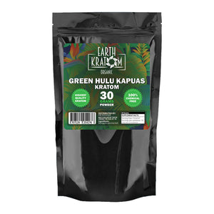 Earth - Kratom Powder Tea Green Hulu 30gm For Sale