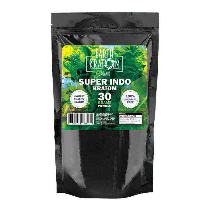 Earth Kratom - Powder Super Indo 30gm