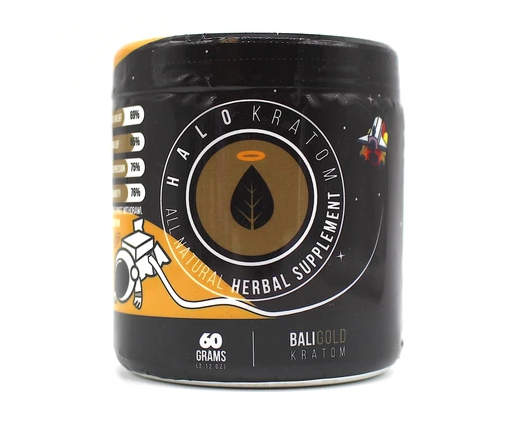 Halo - Kratom Powder Tea Bali Gold 60gm For Sale
