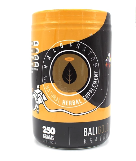 Halo - Kratom Powder Tea Bali Gold 250gm For Sale