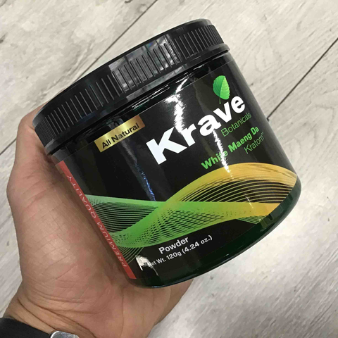 Krave - Kratom Powder Tea White Maeng Da 120gm For Sale