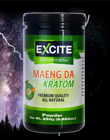 Excite Botanicals - Kratom Powder Tea Maeng Da 250gm For Sale