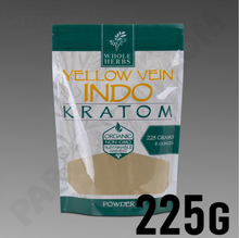 Load image into Gallery viewer, Whole Herbs - Kratom Powder Tea Yellow Vein Indo