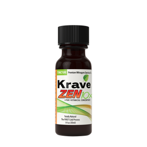 Krave Kratom - Liquid Extract Tea Zen 10X Tincture 30ml For Sale