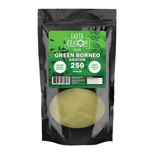 Earth - Kratom Powder Tea Green Borneo 250gm For sale