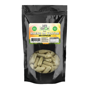 Earth Kratom - Capsule Green Maeng Da 300ct