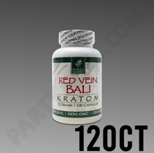Load image into Gallery viewer, Whole Herbs - Kratom Capsule Pills Red Vein Bali