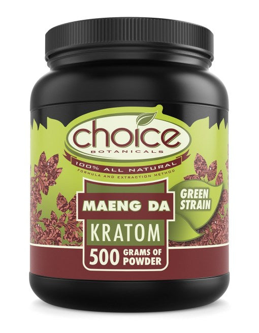 Choice Botanicals - Kratom Powder Tea Maeng Da 500gm For Sale
