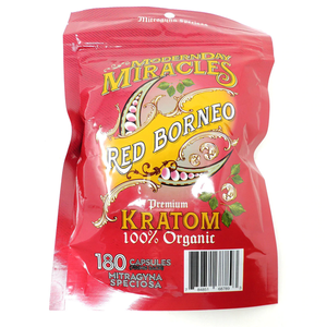 Modern Day Miracles - Kratom Capsule Red Borneo For Sale