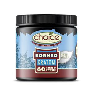 Choice Botanicals - Kratom Powder Tea Borneo 60gm For Sale