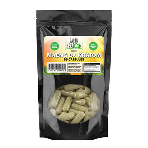 Earth Kratom - Capsule Green Maeng Da 65ct