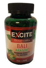 Load image into Gallery viewer, Excite Botanicals - Kratom Capsule Bali 150ct