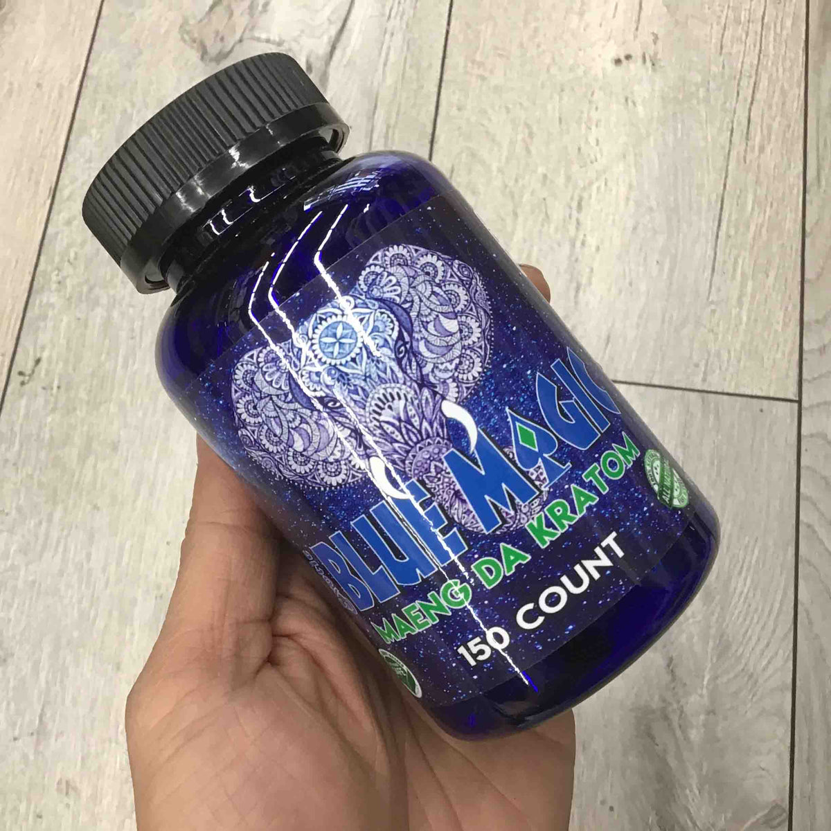 Blue Magic - Kratom Capsule Maeng Da 150ct