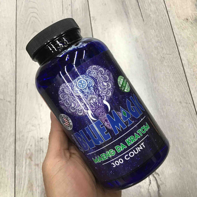 Blue Magic - Kratom Capsule Maeng Da 300ct for sale
