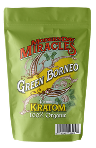 Modern Day Miracles - Kratom Powder Tea Green Borneo For Sale