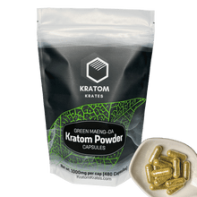 Load image into Gallery viewer, Kratom Krates - Capsule Green Maeng Da