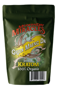 Modern Day Miracles - Kratom Powder Tea Green Maeng Da For Sale