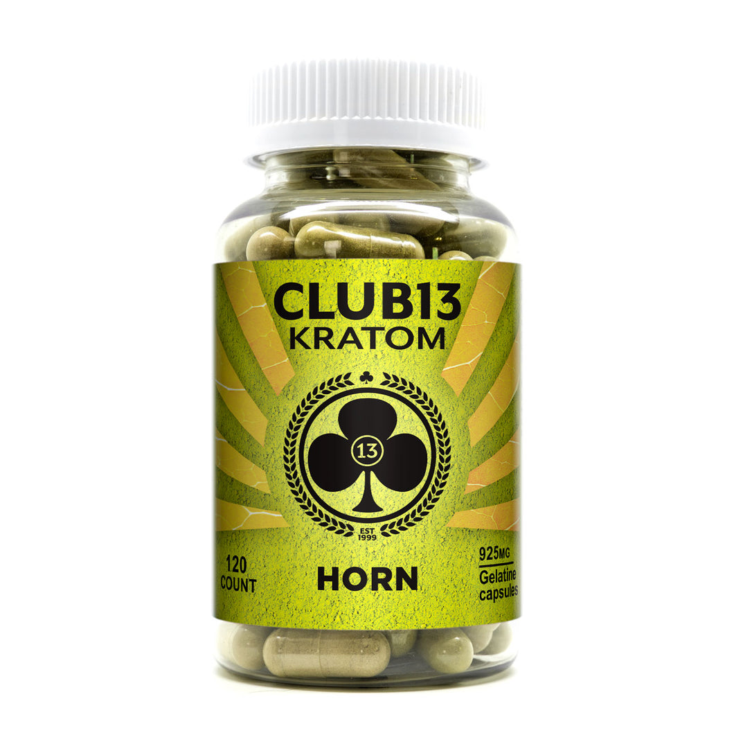 Club 13 - Kratom Capsule Horn For Sale