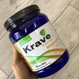 Krave Botanicals - Kratom Powder Tea Maeng Da For Sale