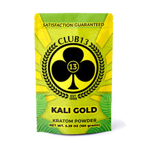 Load image into Gallery viewer, Club 13 - Kratom Powder Tea Kali Gold For Sale