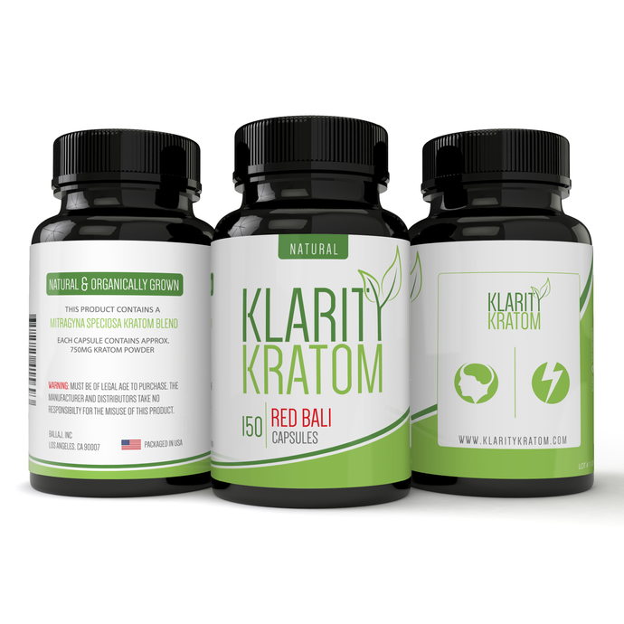 Klarity Kratom - Kratom Capsule Red Bali For Sale
